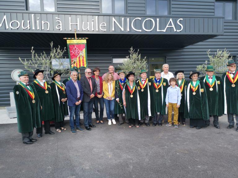 Inauguration du moulin à huile Nicolas