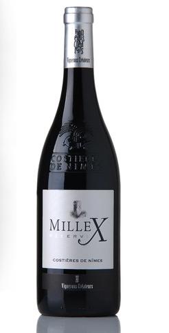 vin mille X réserve rouge