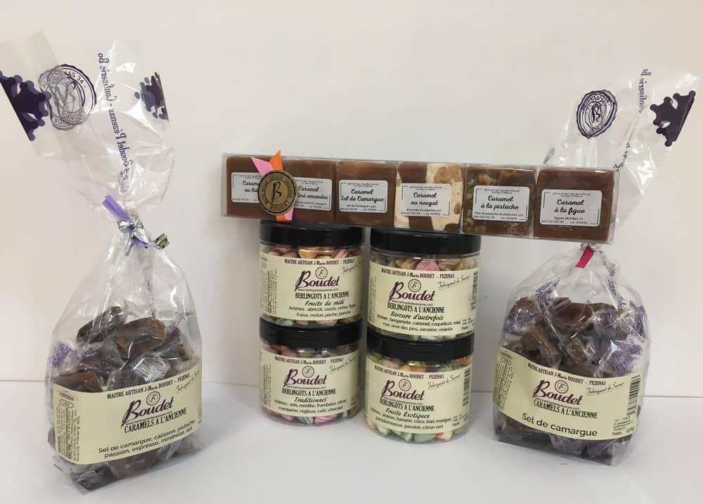 Berlingos + caramels Boudet