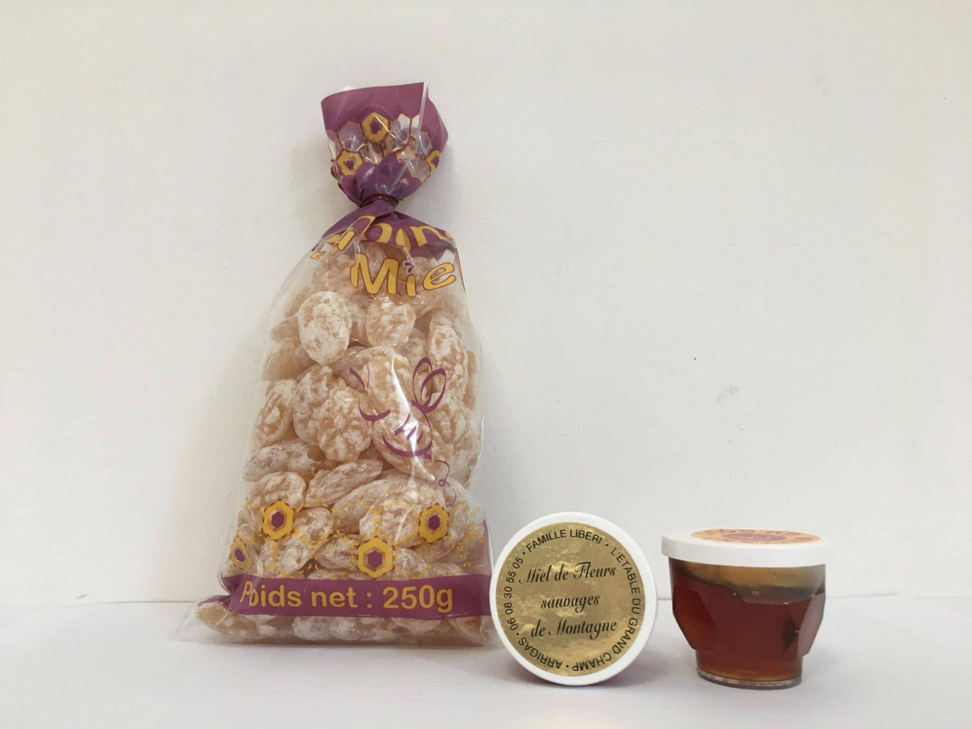 Miels + bonbons - Famille Liberi