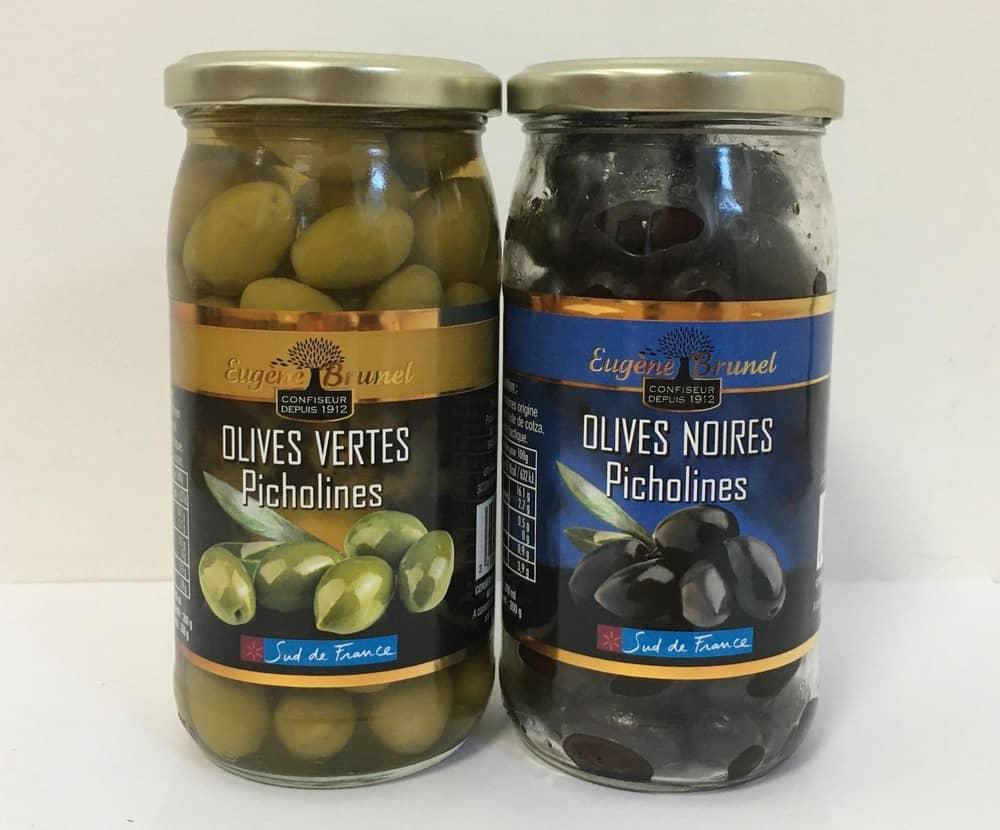 Olives vertes et noires Eugène Brunel