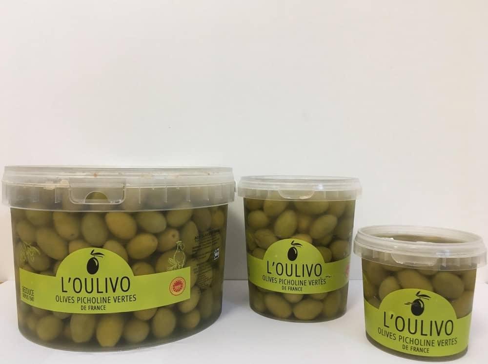 Olives vertes L'Oulivo